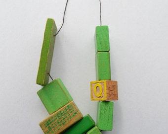 Giant Kawaii Building Block Necklace