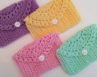 Crocheted Rosary Pouches