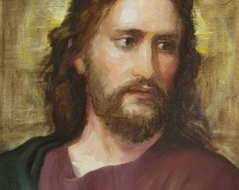 My Painting of Jesus Christ