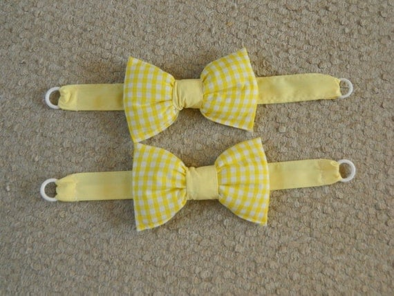 how to make bow tie backs