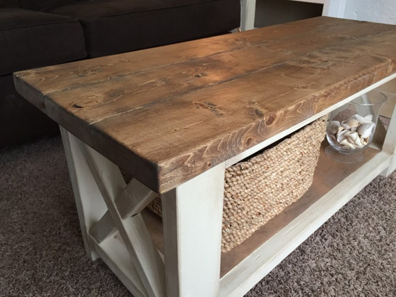 Custom Farmhouse Coffee Table Rustic Coffee Table
