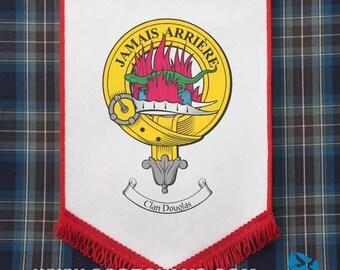 Clan Crest Hanging Pennant - Scottish Clans