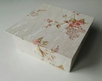 present box, Gift box, Jewelry box, Handmade gift box, Vintage box, Box with lid, Wedding box, Jewelry display box, Customized box