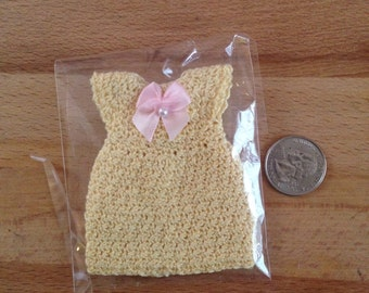 American girl doll mini clothes dress fits 6.5 inch dolls