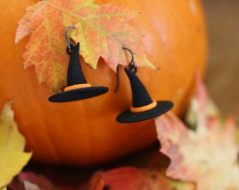 3D Printed Witch Hat Earrings