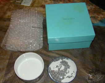 "Super rare 2002 tiffany & co. designed for ""the pepsi bottling group"" trinket box"