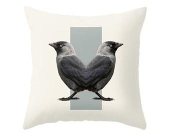 Birds Pillow - Double Animals