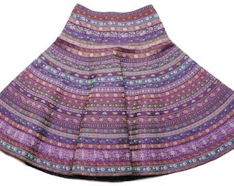 Dynara full circle ribbon skirt 65 cm long, size M (10-12 UK)