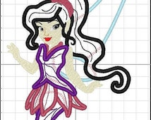 On Sales Now INSTANT DOWNLOAD - Vidia Applique in 2 Sizes