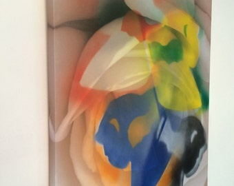 Original spray art painting, large canvas painting, wall art.