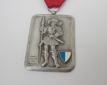 Vintage germany medal 1988 , medal red, medals , old , vintage , decor, Auszeichnung Vssv Astv, army medal, collector, decor