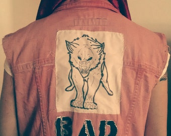 Red Riding Hood Punk Vest