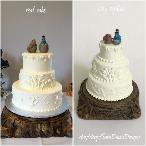Cake Images For First Anniversary : Wedding Cake Replica 1st Anniversary Gift First Christmas