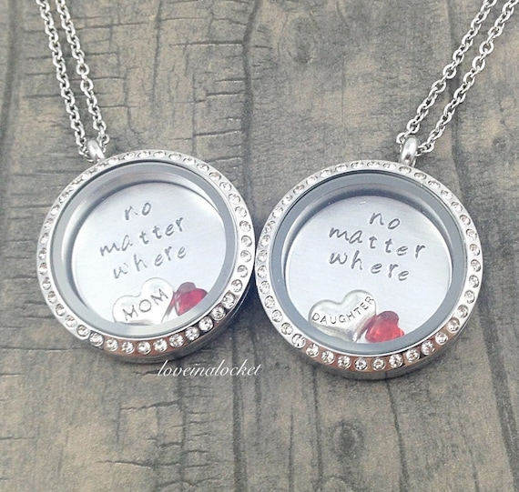 Locket mother daughter lockets mom daughter jewelry mother s day