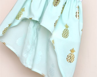 Pineapple High Low skirt ONLYAmerican Girl Doll Clothes