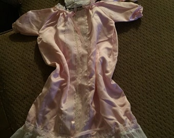 Christening gown pink