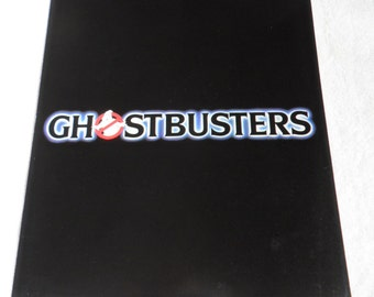 1984 Ghostbusters - Bill Murray, Dan Aykroyd, Harold Ramis, Sigourney Weaver, Rick Moranis - Original Advanced Screening Credit Program