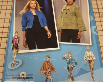 Simplicity, 2558, Pattern, Project Runway, Ladies, Jacket, Size 12, 14, 16, 18, 20, Mailed From Canada