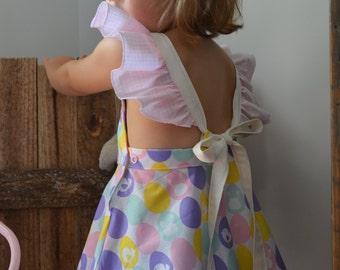 Easter Dreaming Butterfly Tea Dress Size 2