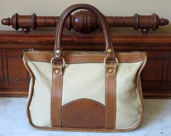 Spring Sale Ghurka Marley Hodgson British Tan Leather No 25 'The Collector' Registration No H-950-Handmade In the United States- Vgc