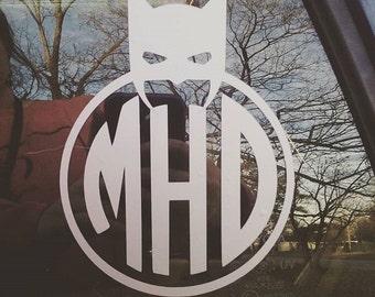 Batman monogram