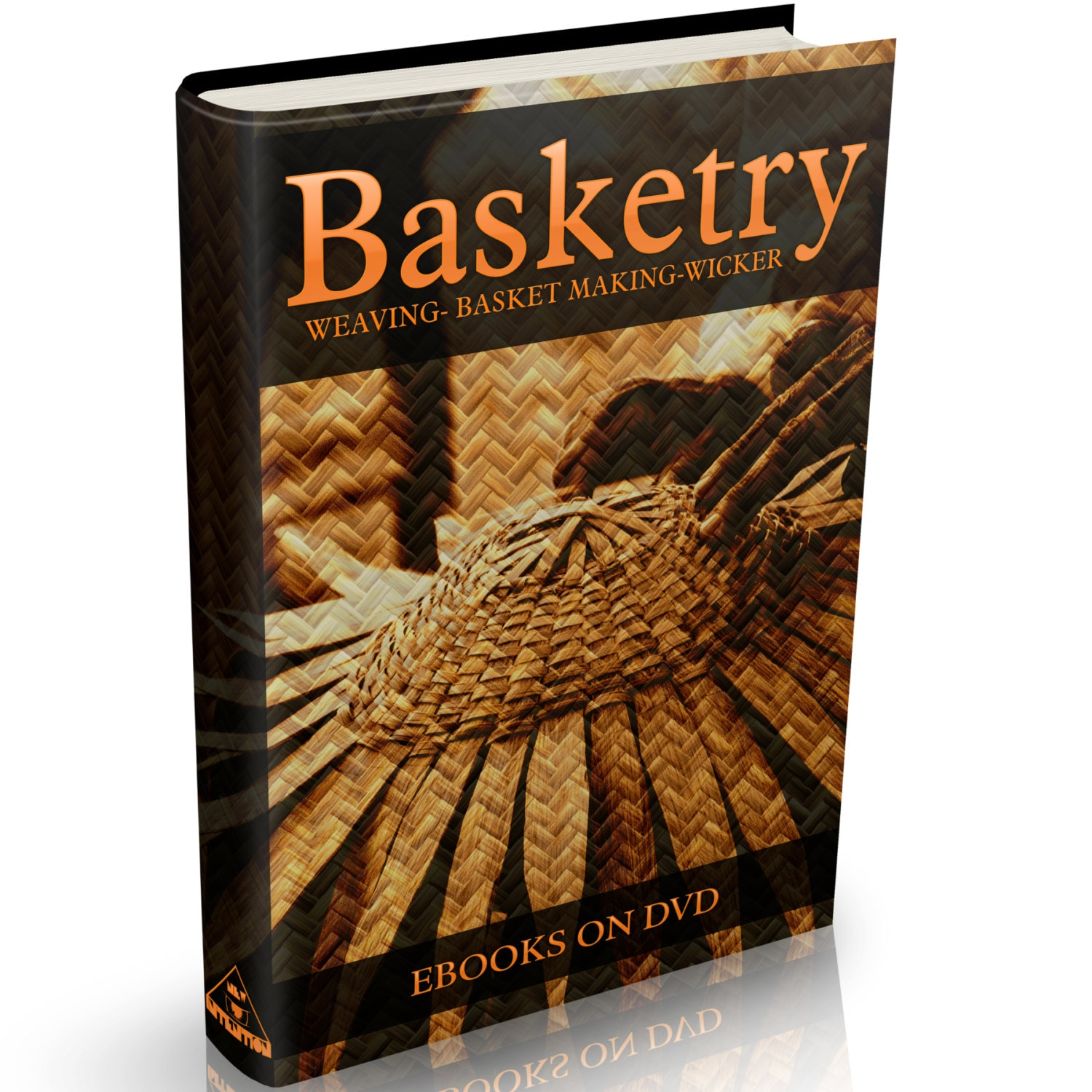 Basket Weaving Books Free : Rare basket making books on dvd weaving willow art