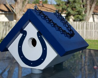 Indianapolis Colts birdhouse