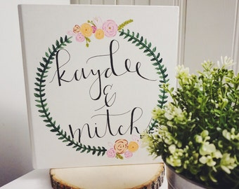 Personalized Wedding Binder / Planner