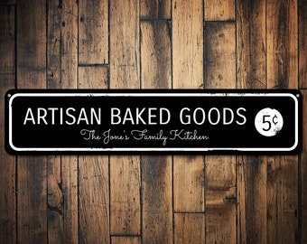 Baked Goods Sign Etsy