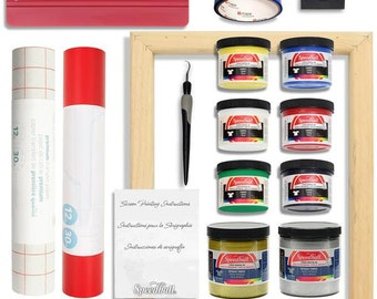 Screen Printing Bundle with Extra Paints from Speedball Art