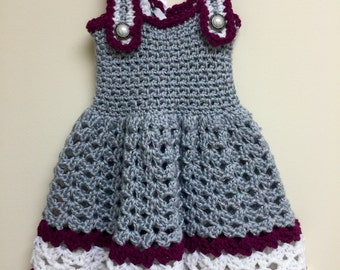 Little gray and sparkle dress