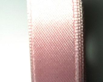 30 meters Satin ribbon 9mm light pink