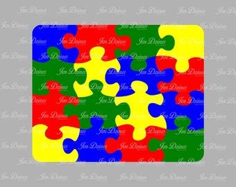 Puzzle SVG, DXF, EPS, puzzle svg, puzzle piece svg, 4x4 puzzle, jigsaw puzzle svg, svg file for Cricut, Silhouette, svg cutting file