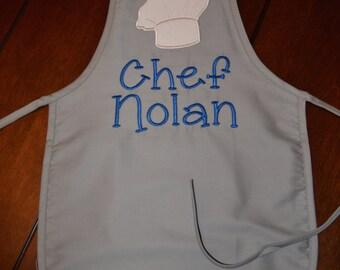 Boys Personalized Chef apron