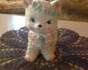 60s Vintage Inarco Japanese Kitty Planter