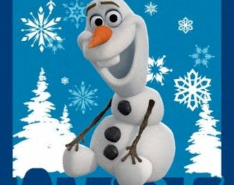 Disney_olaf_DIY quilt kit_fabric and pattern included, Free US Shipping