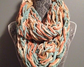 Chunky Sailors Delight Infinity Scarf