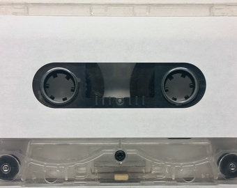 10 count Full Sheets of 12 Face Labels for Music Cassette Tapes