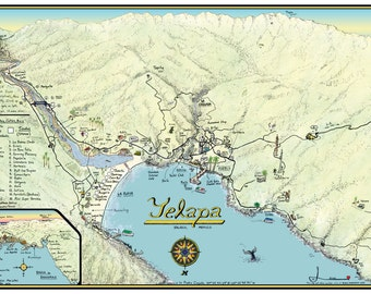 Yelapa Map 2011
