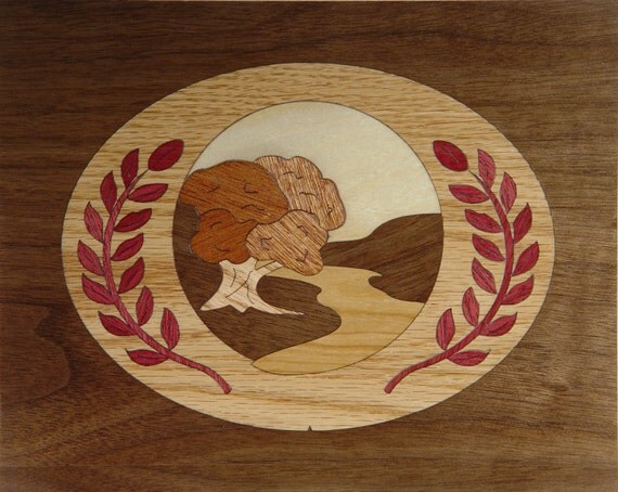 "8""x 10"" Marquetry Project Kit - Cameo"