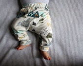 Organic Baby Pants / Leggings in Harem...