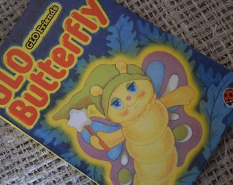 Glo Butterfly. Glo Friends. A Vintage Ladybird children's Reading Book. First Edition