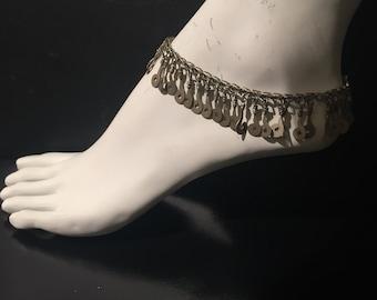 Vintage Anklet,Statement vintage Anklet,Kochi Anklet,gypsy-Ethnic-hippy-kuchee-Nomadic-boho jewellery shop