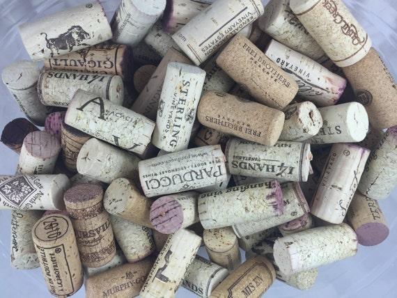 Corks wine corks for crafts weddings frames lot of 100 for Wine cork crafts guide