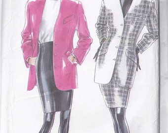 Jacket and Skirt Pattern - 1990s