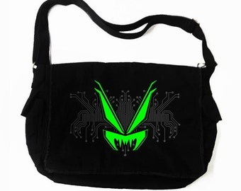 VampireFreaks Cyber-Circuit Messenger Bag