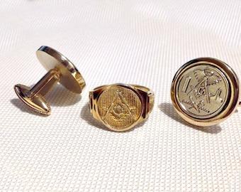 Limited Offer Masonic Ring Traveler's Set