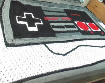 Nintendo Game Controller Blanket
