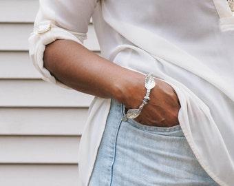 Antique Silver Twist Bracelet