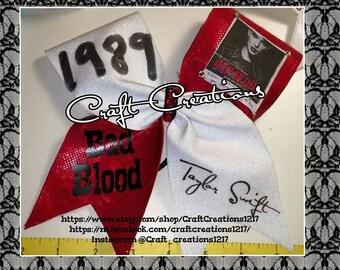 Taylor swift Bad Blood cheer bow